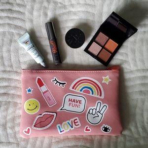 Makeup Bundle (minis) + Makeup Bag